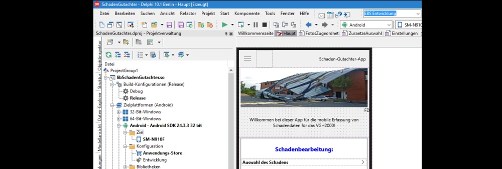 Delphi Schulung Grundlagen + Fortgeschrittene, Delphi App Schulungen